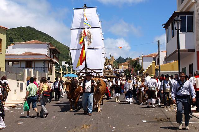Romeria, Tegueste, Tenerife