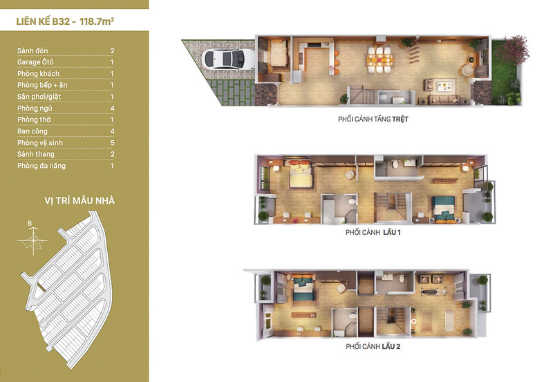 12 thiết kế mẫu nhà liên kế tại RioVista quận 9 8
