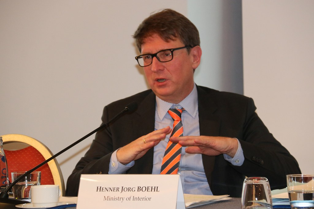 Henner Jorg Boehl, from the German Ministry of Interior, b… | Flickr