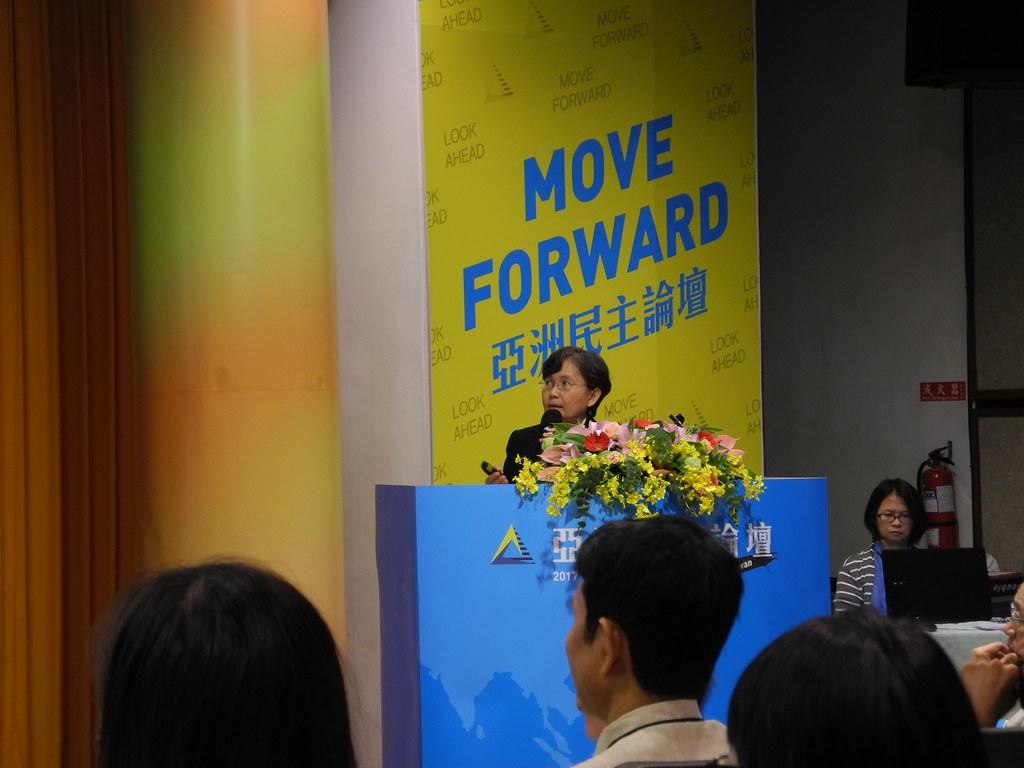 泰國生態警示復甦的主任Ms. Sae Tang Penchom。