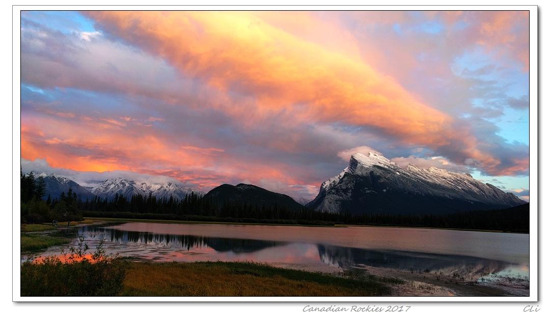 加拿大落基山三周秋遊(1)--班芙&Jasper風光無限的高山湖泊