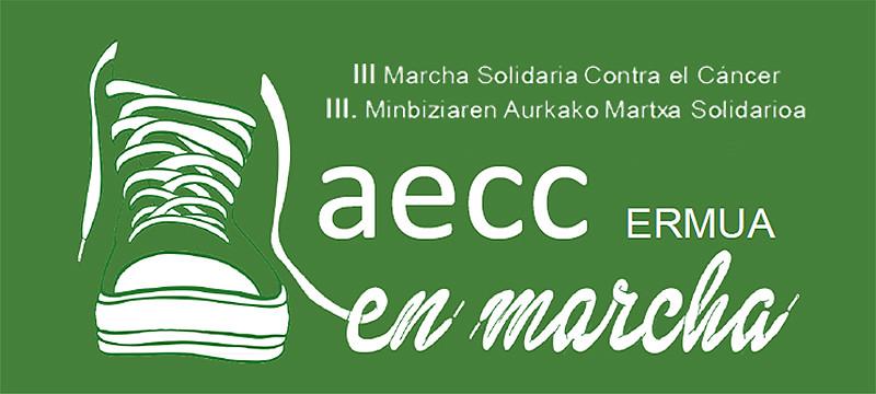 Imagen promocional de la III Marcha contra el Cáncer