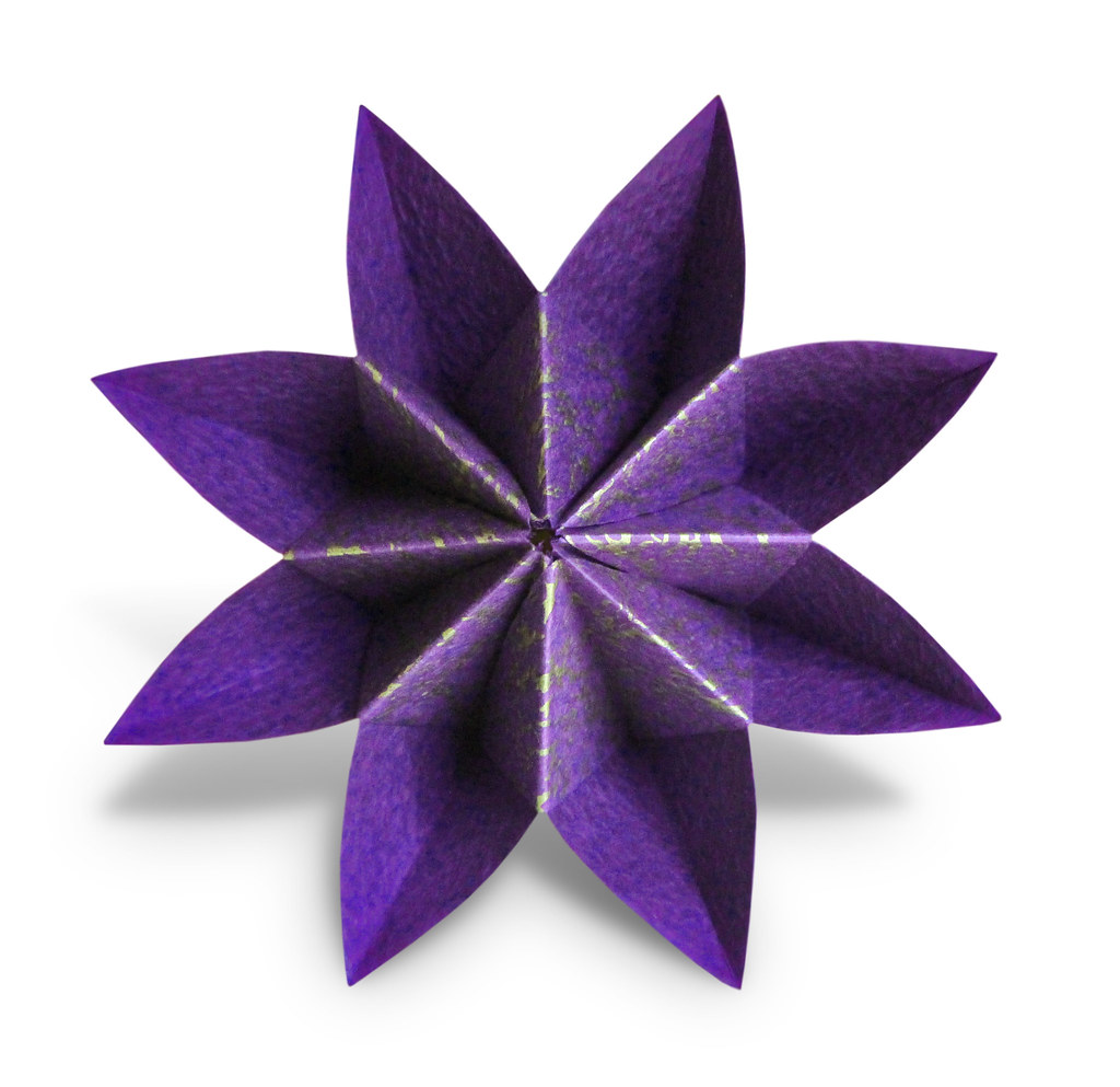 Origami Fortune Flower Dylan Jacobs Learn To Fold This E Flickr