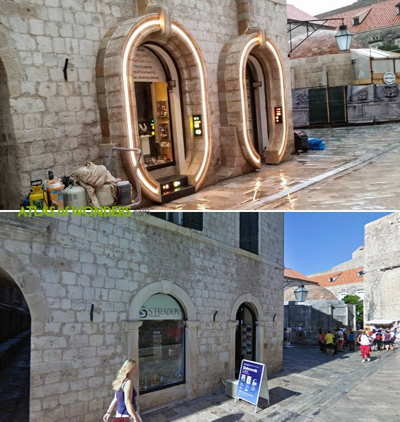 The Last Jedi set in Croatian city
