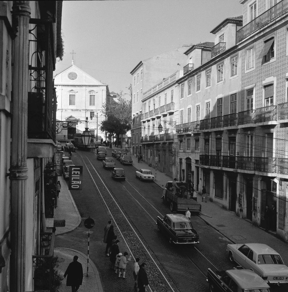 Rua da Misericórdia, Lisboa (A. Serôdio, 1967)
