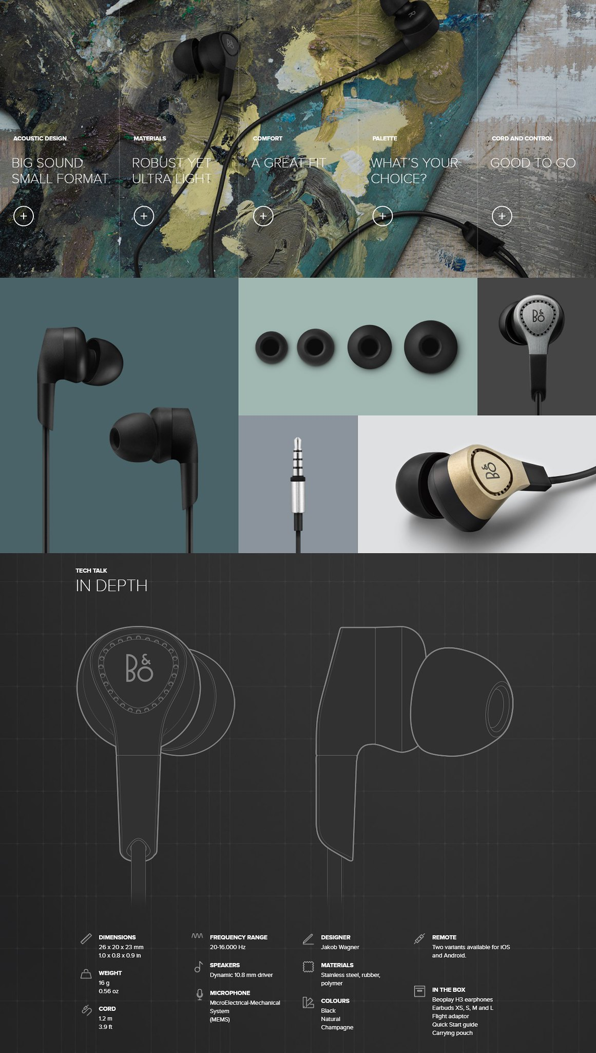 Bo Play By Bang Olufsen Beoplay End 11 15 2019 712 Pm Ampamp H3 Lightweight Earphone Black Last Updated 4 28 2018 65819