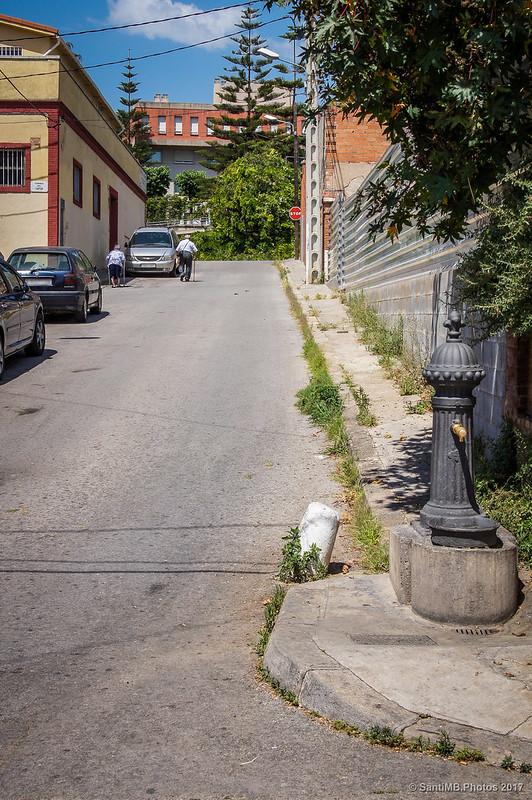 Calle del Amor, en el barrio de Horta
