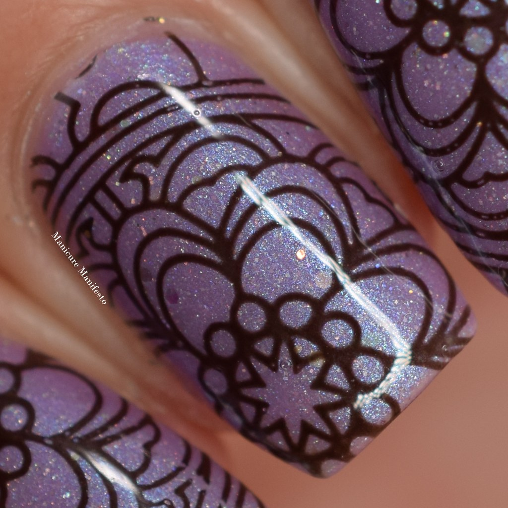 Girly Bits Stump Up The Jam stamping polish