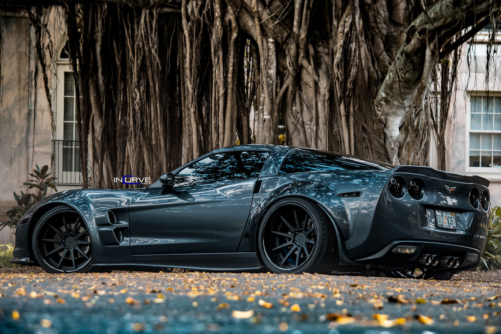 Widebody Corvette | Incurve Forged IF-10 | Supervette ...
