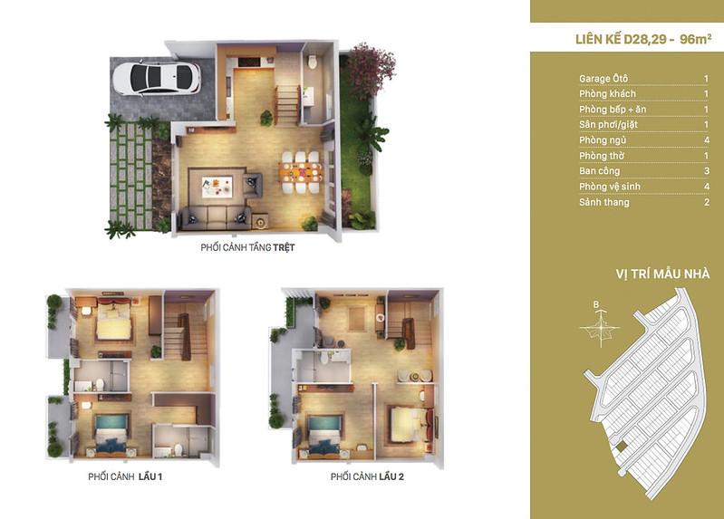 12 thiết kế mẫu nhà liên kế tại RioVista quận 9 10