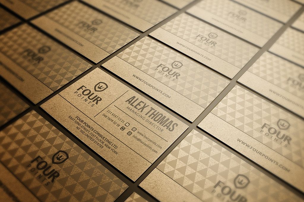Craft Paper Business Card Template DOWNLOAD THE TEMPLATE H Flickr - Business card template paper