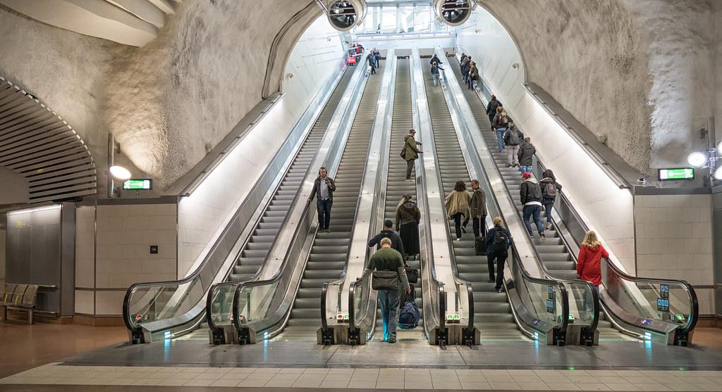 Stockholm City Station Gosta Knochenhauer Flickr