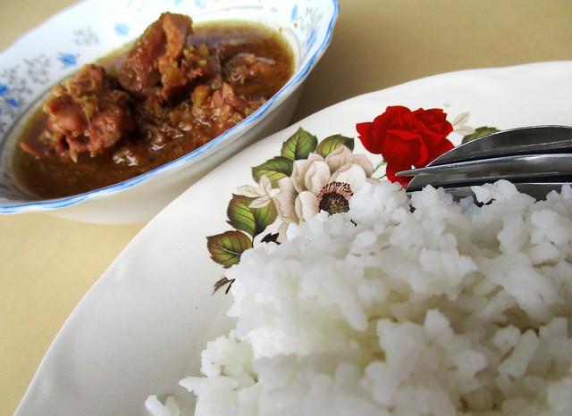 Kopitiam Fantasy sour duck rice