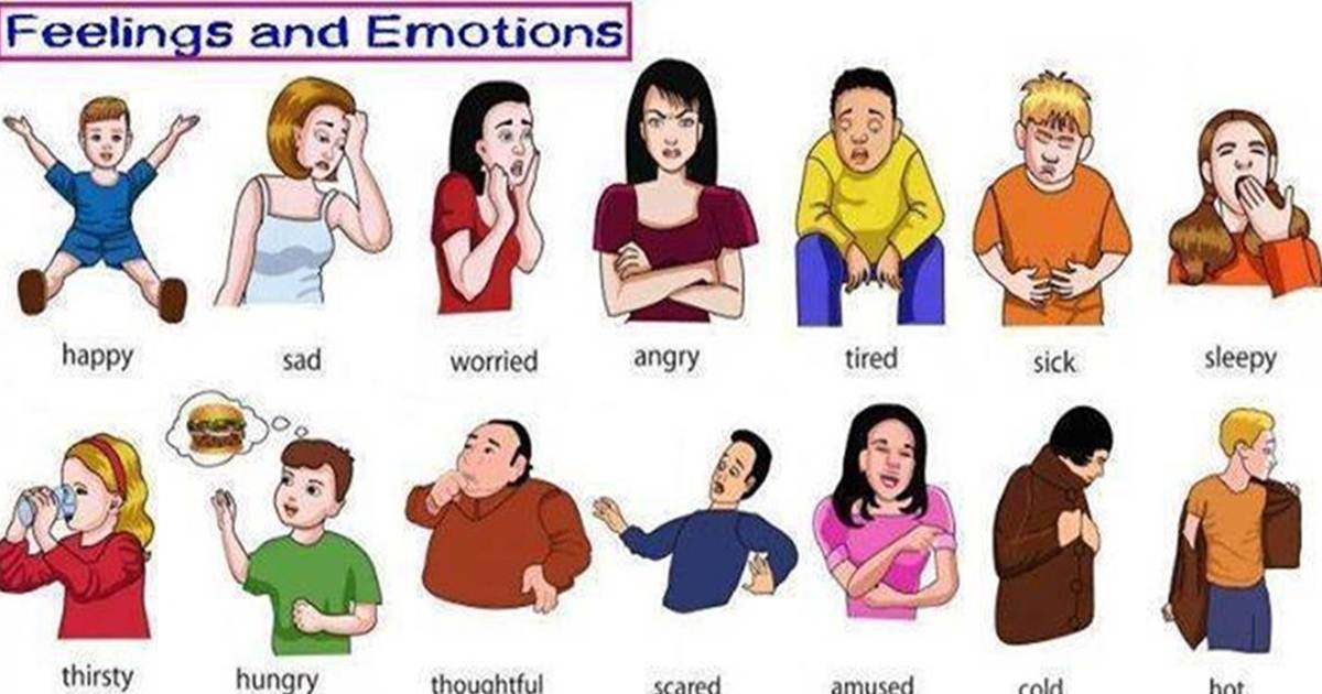Adjectives to Describe Feelings and Emotions in English 5