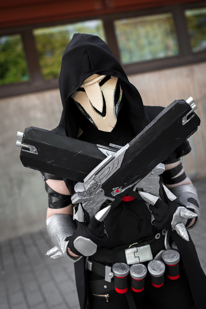 overwatch reaper cosplay punapanda flickr