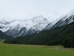 Winter auf dem Weg ins Tal