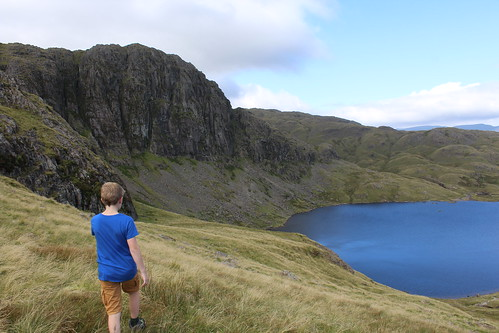 Approaching Stickle Tarn
