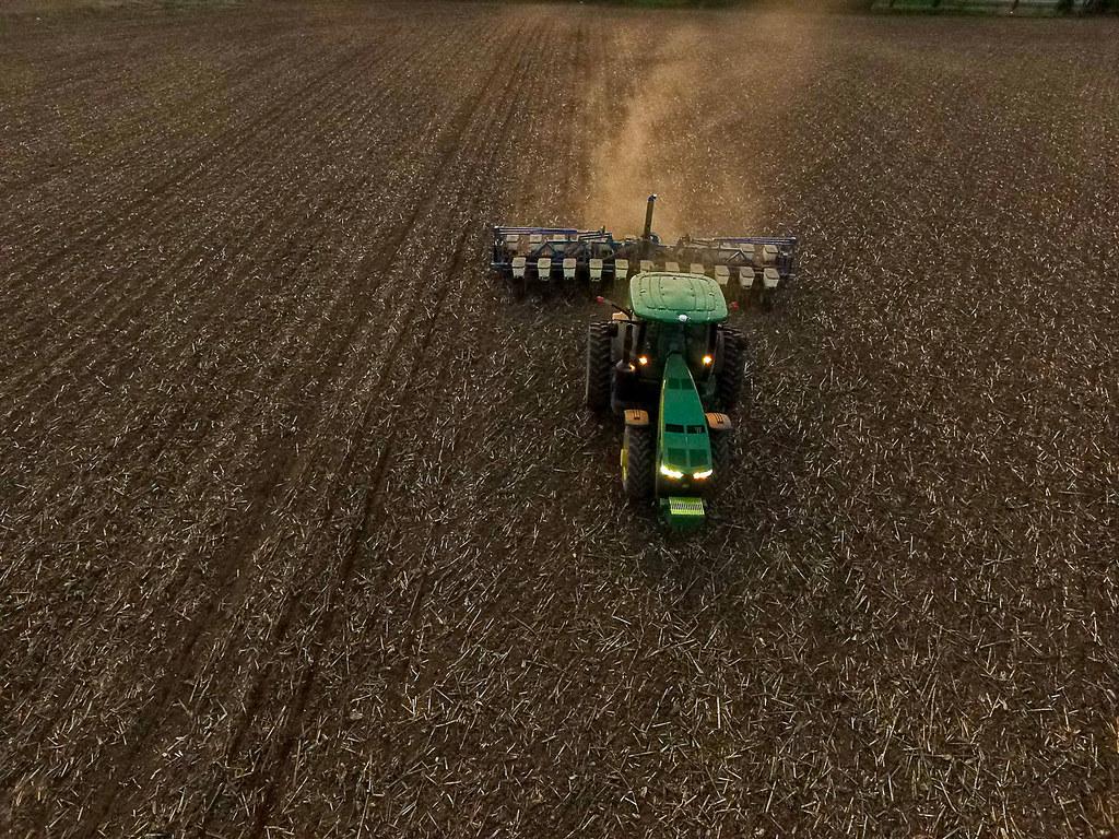 英國的「精準農業」(Precision Agriculture)測試。圖片來源:UK College of Agriculture, Food & Environment(CC BY-NC-ND 2.0)