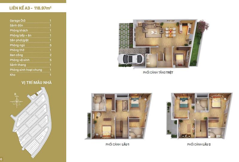 12 thiết kế mẫu nhà liên kế tại RioVista quận 9 17