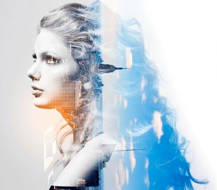 Animated double exposure – Photoshop action