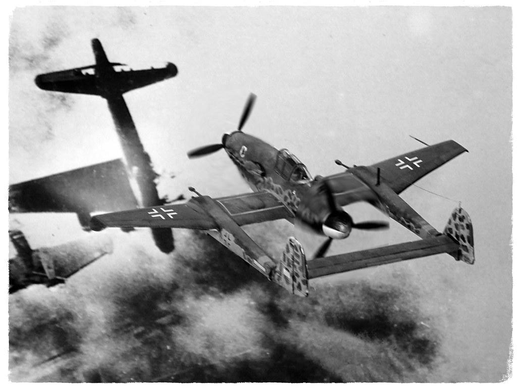 """... 1:72 Messerschmitt Me 709 A-2; """"<+ – yellow"""""""