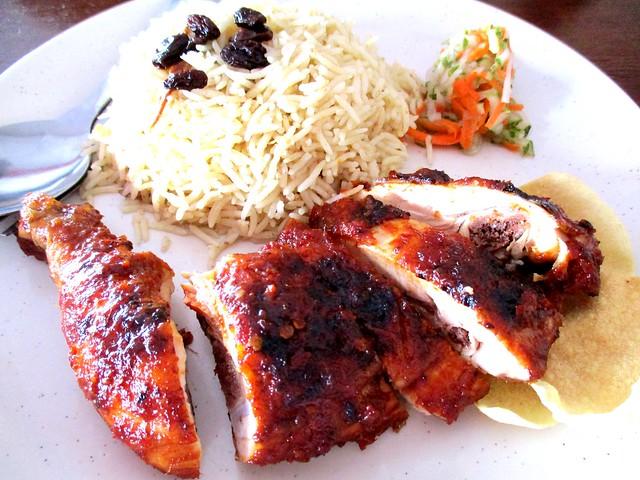 YS Cafe nasi Arab ayam percik 1