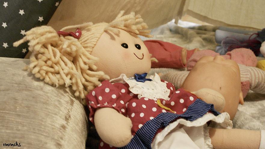 muñeca de trapo infantil