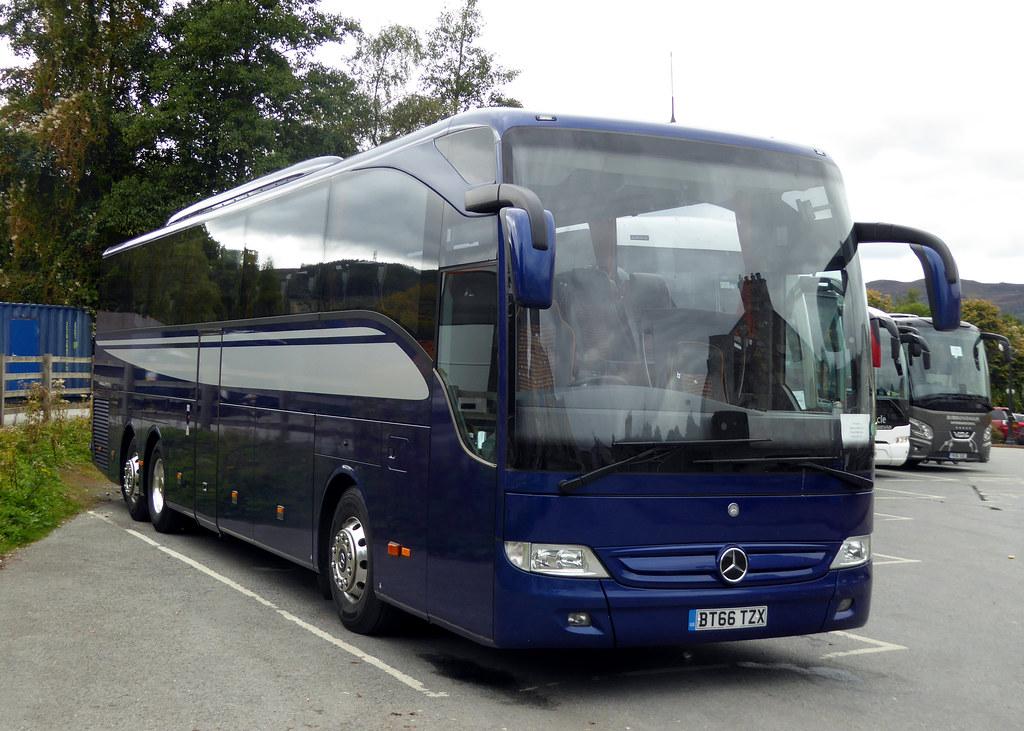 Bt66 tzx mercedes benz tourismo m c55f evobus uk ltd for Mercedes benz tourismo coach