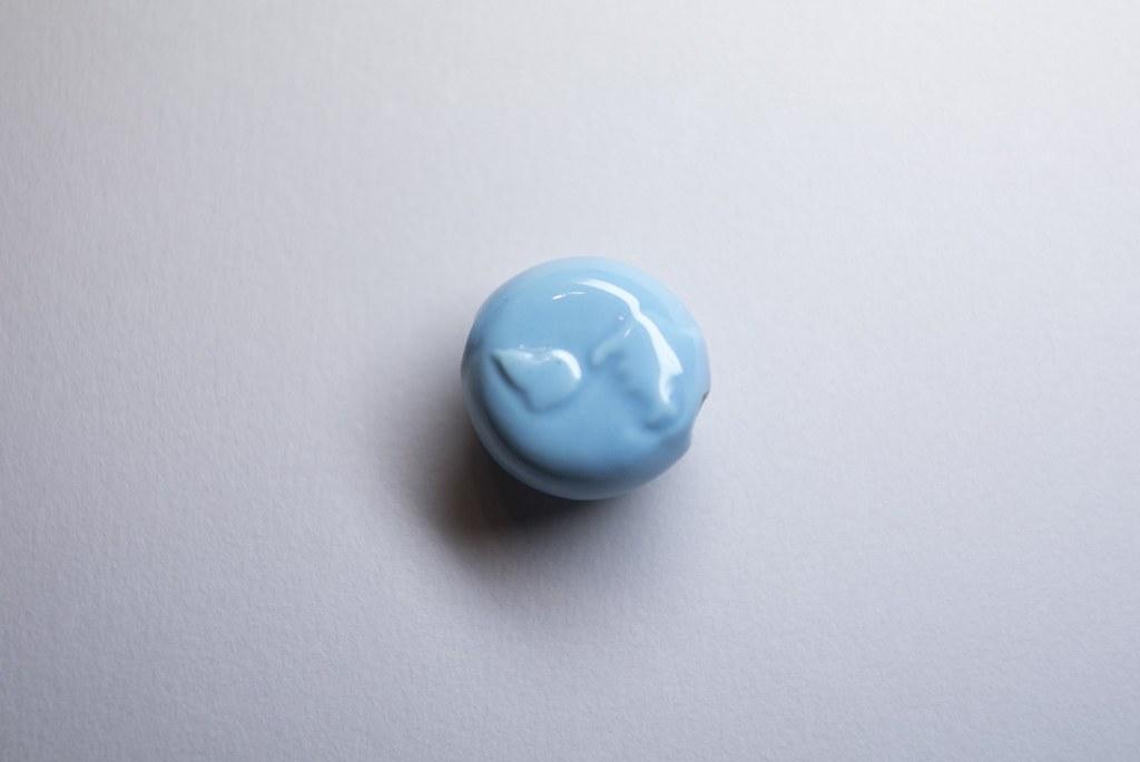 愛地球陶珠-青空藍