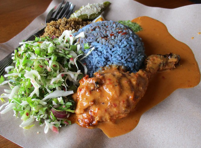 Warong Cafe nasi kerabu ayam percik 1