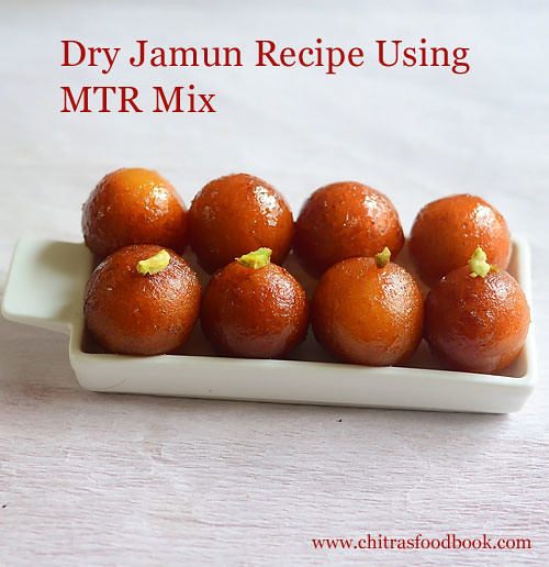 dry jamun with mtr mix