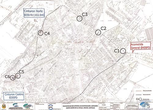 AionSur 37705014776_6ef984198f_d Comienzan las obras del final de la red arterial de distribución de agua en Arahal Arahal