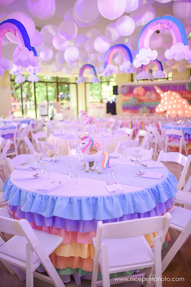 Charmant ... Unicorn Theme Party Table Setup (3) | By Jowong19