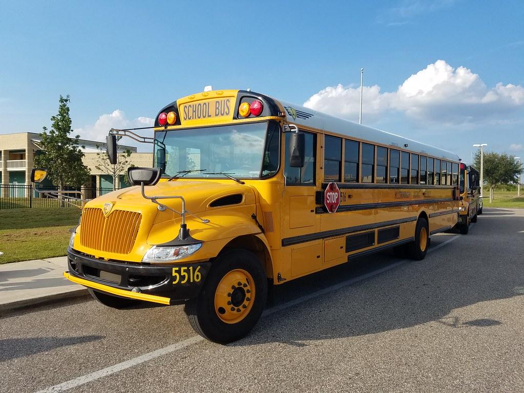 5516 - 2018 IC CE - Hillsborough County School Bus | Flickr