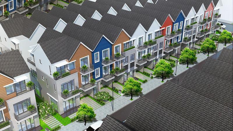 Nhà phố liên kế Park Riverside Premium 5x15m