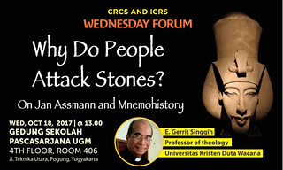 Why Do People Attack Stones? (On Jan Assmann and Mnemohistory)