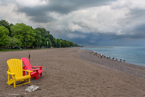 Storm readies itself over Kew Beach - Toronto | by Phil Marion