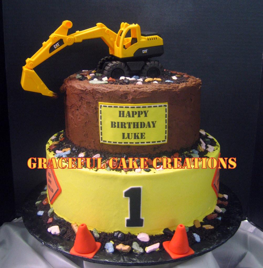 Construction Birthday Cake Decorations