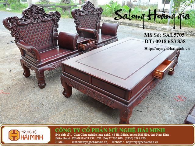 SAL5705o  Salong Hoang gia  do go mynghehaiminh