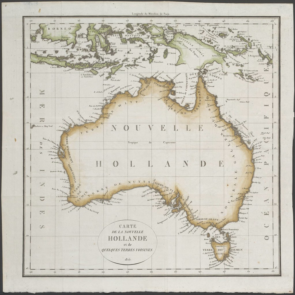 Map of Australia (1815)