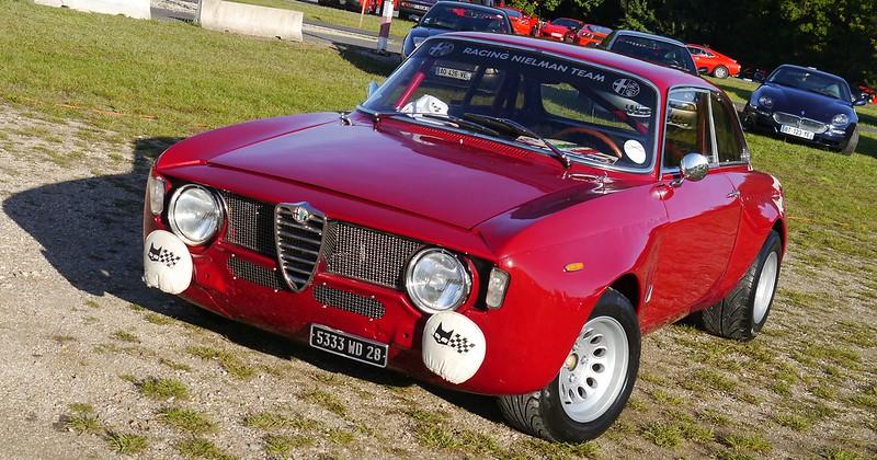"Alfa Romeo Giulia Sprint 1600 GTA ""Evocation"" 2.0 litres Twi 36886210593_1d4c719207_c"