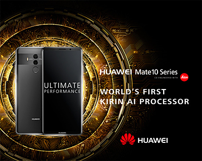 The Kirin 970 in the Mate 10 Series was unveiled during IFA Berlin last month and is Huawei's first AI (artificial intelligence) mobile chipset.