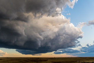 Cloud structure near Hayes Center, NE | by chasingwithbill