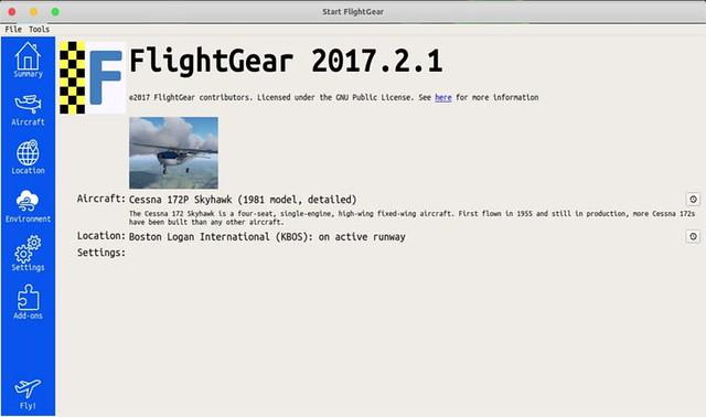 flightgear-pantalla-de-inicio
