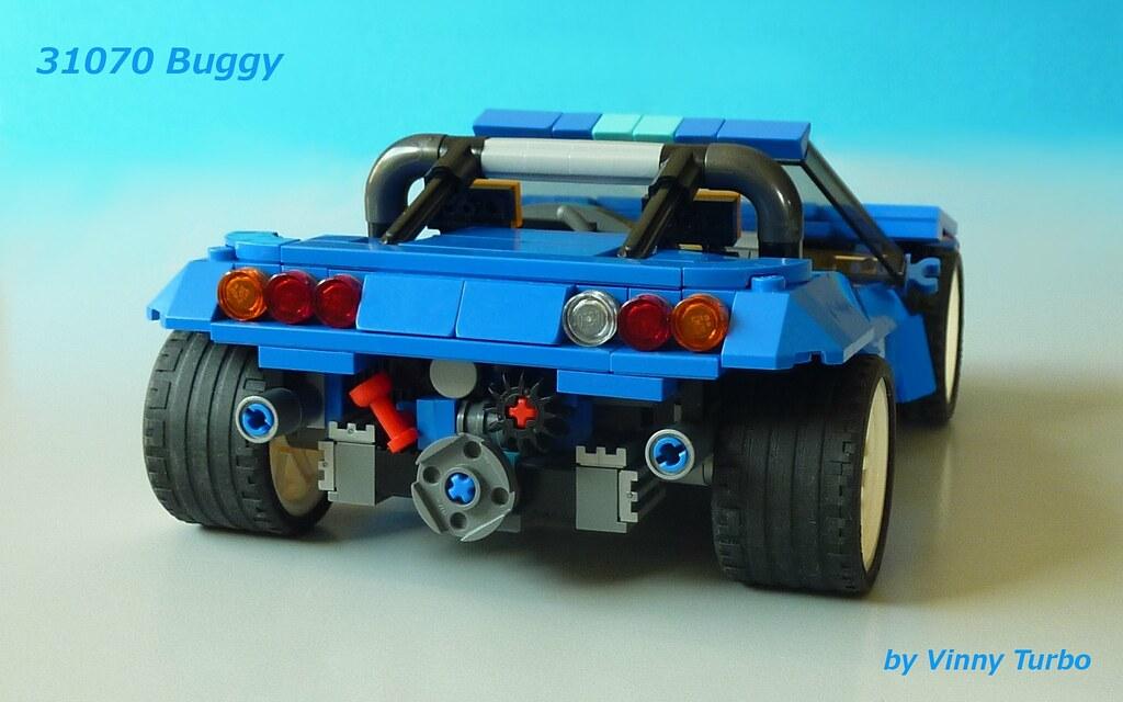 Lego 31070 Alternate Modern Swb Buggy Building An
