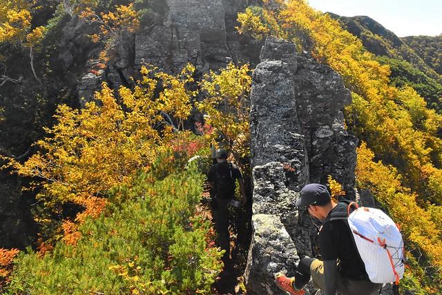アサヨ峰の紅葉