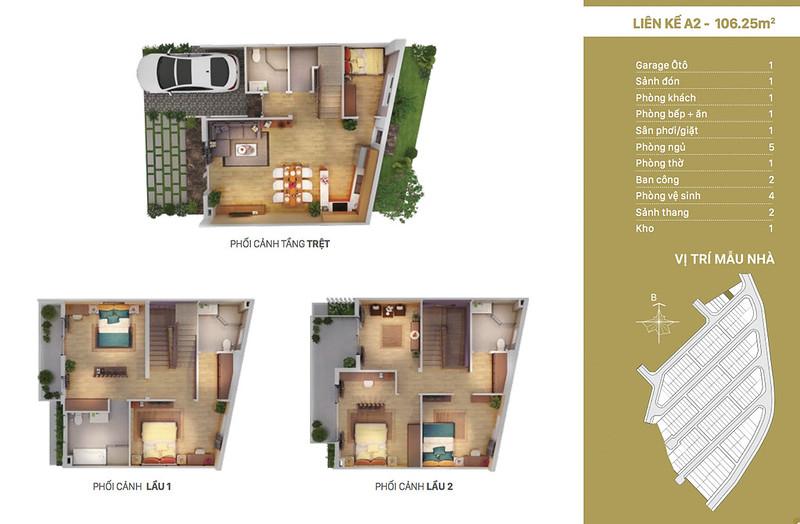 12 thiết kế mẫu nhà liên kế tại RioVista quận 9 16