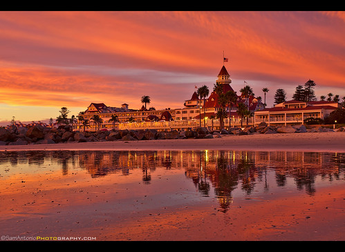 Epic Sunset At The Hotel Del Coronado