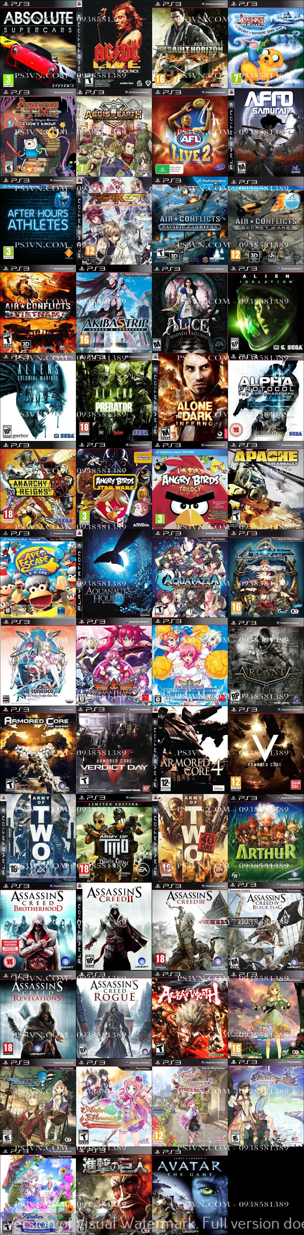 Chép Game PS3 tại nhà giá rẻ nhất TPHCM - PS3VN.COM - 3