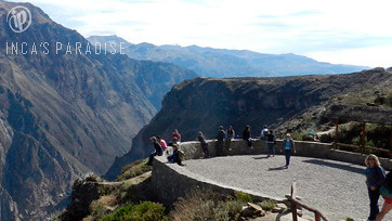 Mirador del Condor en Chivay